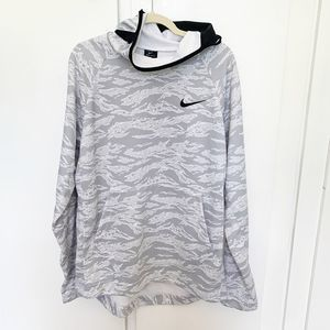 NIKE HOODIE SIZE LARGE MENS DRY FIT PULLOVER